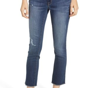 NWT 1822 ankle straight leg crop jeans